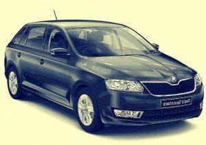 Wypożyczalnia samochodów Mysłowice – Skoda Octavia